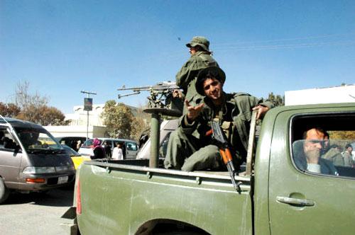 アフガニスタン国軍の兵士(撮影:いずれも筆者)