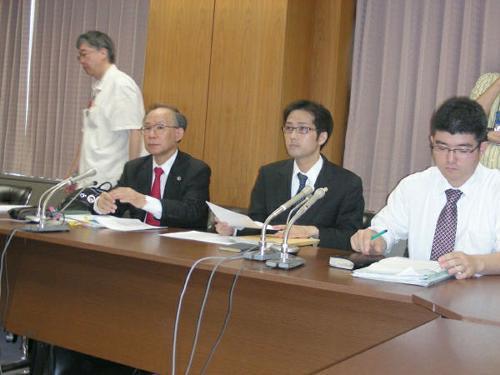 被害対策弁護団(日本弁護士会館)